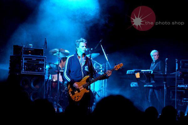 John Taylor permforming 'Whiles Lines' for Duran Duran's encore