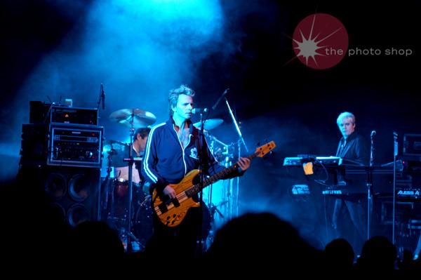 John Taylor permforming 'Whiles Lines' for Duran Duran's encore