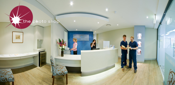 Dental Serenity Reception Panorama