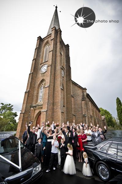 The gang at St John's Church
