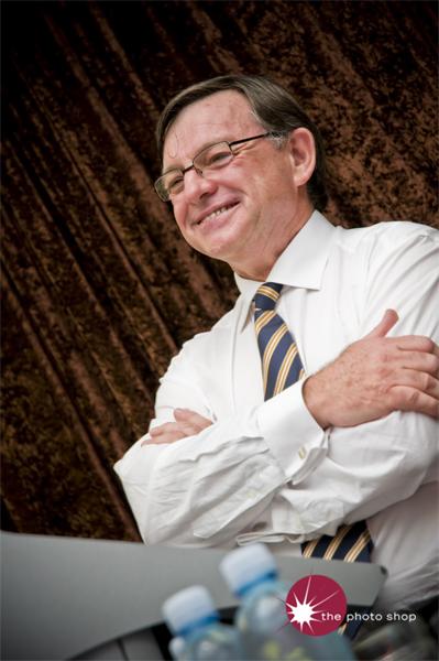 Telstra Chairman Donald McGauchie