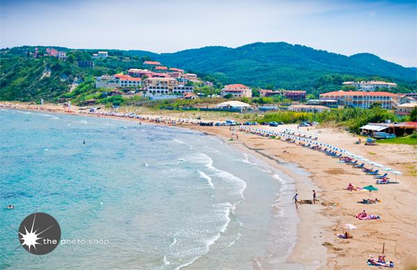 The beach of San Stefanos
