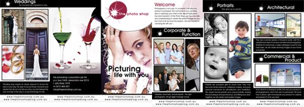 The Photo Shop Brochure