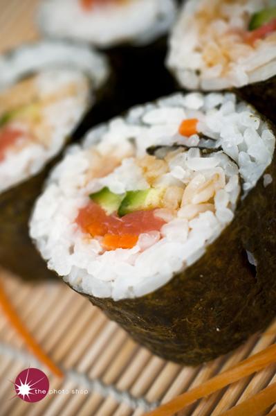The winning sushi