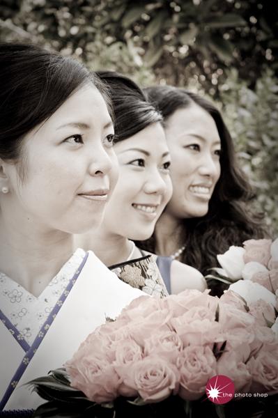 Yuko and the girls
