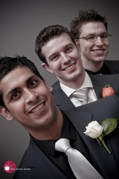 Reza, Luke and Cameron