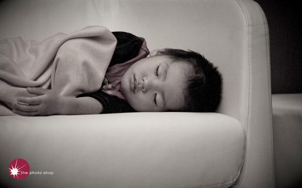 Osuke up past bedtime
