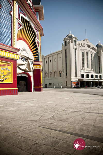 Two icons of St Kilda: Luna Park and the Palais Theatre